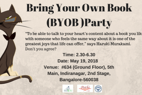Bring Your Own Book (BYOB) Party on May 19, 2018 (Saturday)