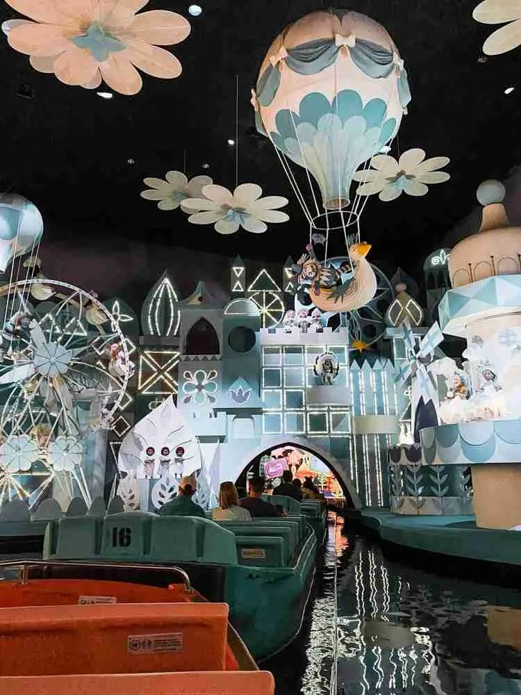 It's a Small World ride after Disney parks reopening