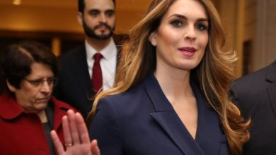 Hope Hicks Resigned