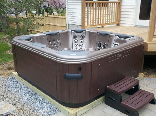 plastic portable hot tub