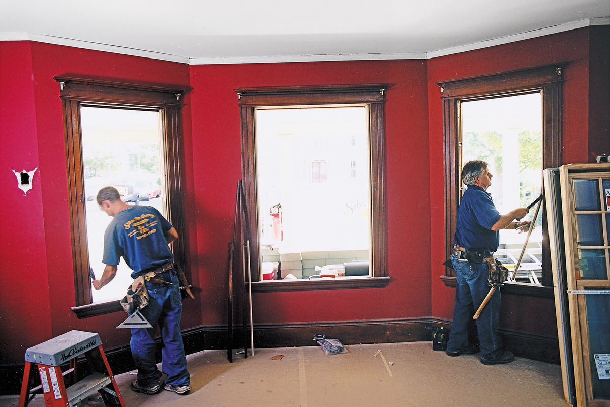 Replace Old Windows and Add More Insulation