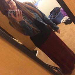 Azules Women_s Rayon Span Maxi Skirt_7
