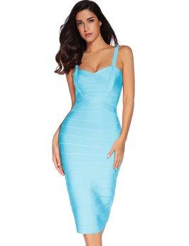 Strap Party Pencil Dress_1