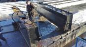 Cold and frosty outside but pressure washing the inside of the tanks goes on.