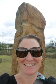 Me, in front of one. Shocked I can get this close to an ancient artifact. By now you may be thinking these are the most phallic things ever...