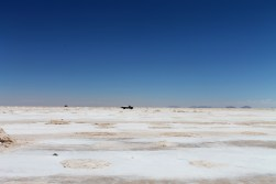 Gathering the salt in the Salar de Uyuni