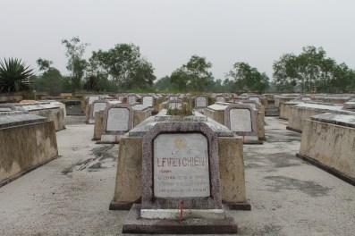 A cemetery for North Vietnamese War Veterans