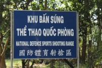and, of course, the shooting range