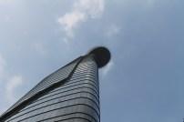 Modern Saigon skybar