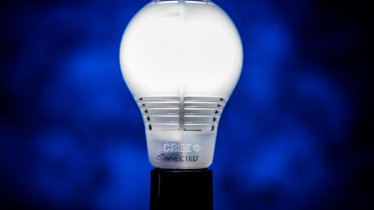 Cree Connected 60W Soft White (2700K) Dimmable LED Light Bulb