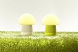 emoi基本生活 智能蘑菇音响灯H0023,触摸感应,APP控制