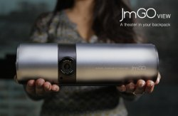 JmGO View Projector: A Smart TV In Your Backpack