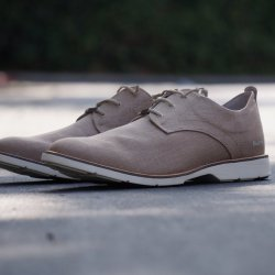 Light Brown Casual Low Oxford by Burnetie