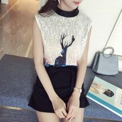 夏季新款韩版女装时尚两件套休闲短裤+宽松上衣