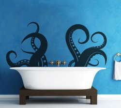 Tentacles Wall Decal Sticker by Stickerbrand