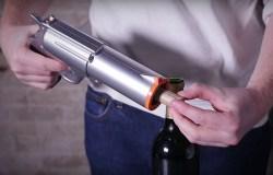 Powered Wine Opener Gun by WineOvation