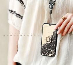 简约欧式蕾丝创意iPhone手机壳