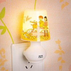 插电LED遥控睡眠小夜灯