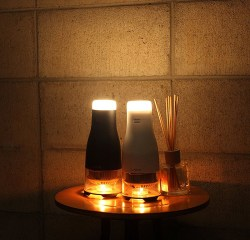 Candle Powered LED Lamp