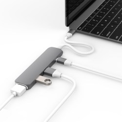 HyperDrive USB Type-C Hub with 4K HDMI Support for MacBook