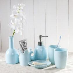 创意欧式陶瓷卫浴洗漱套装