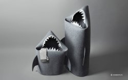 Shark Felt Kids Toy Storage