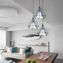 北欧loft复古工业风镂空吊灯