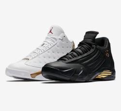 NIKE 耐克 AIR JORDAN XIII+XIV DMP 男子篮球鞋套装