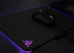 Razer雷蛇 Firefly烈焰神虫织物版Chroma幻彩游戏发光游戏鼠标垫