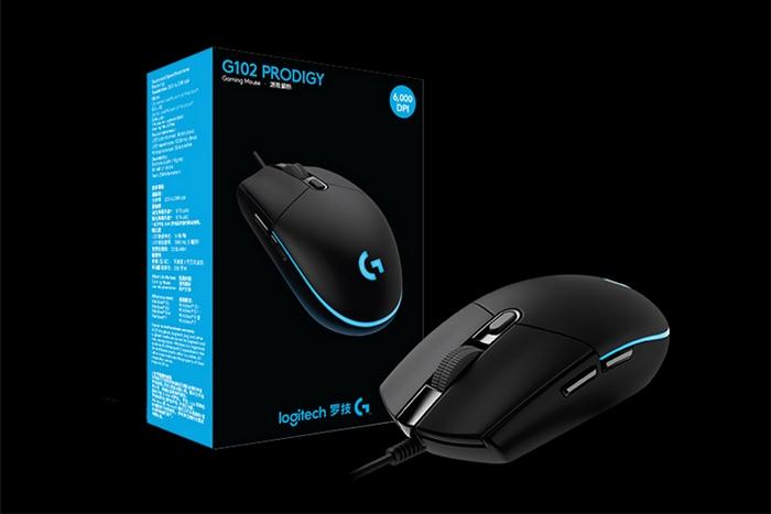 Logitech/罗技G102鼠标有线RGB鼠标