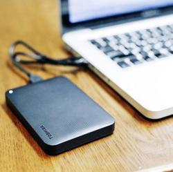 Toshiba/东芝移动硬盘1T 高速USB3.0 黑甲虫升级版可加密