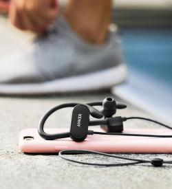 Anker SoundBuds Curve Wireless Headphones AptX Stereo Sound