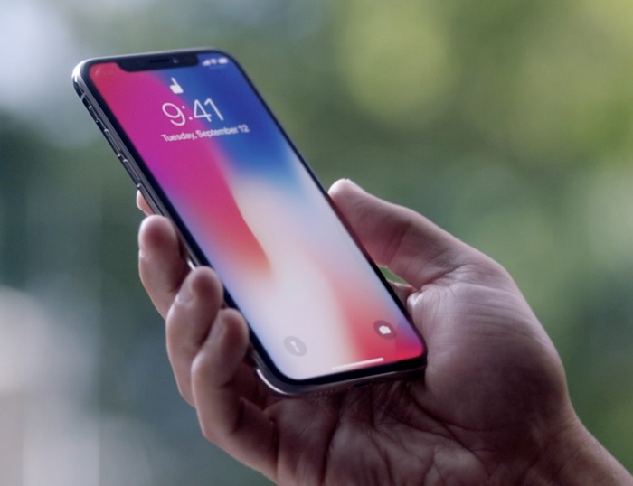 Apple iPhone X With Entirely Screen
