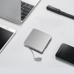Mipow麦泡 苹果自带线便携移动电源,MFi认证充电头,IF设计奖