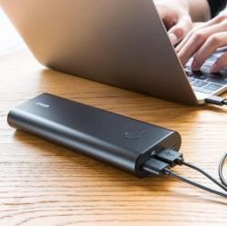 Anker安克 USB-C双向快充移动电源,20000mAh,Switch充电