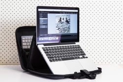 MOBICASE Lightweight Laptop Bag with Built-in Ergonomic Stand