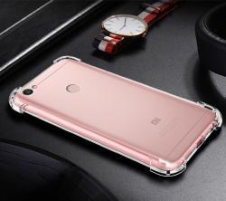 小米\苹果手机透明防摔壳,硅胶四角气囊