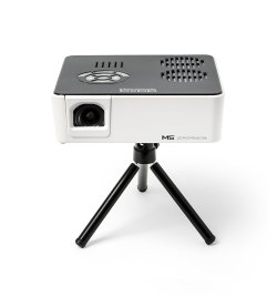 AAXA M5 Mini Portable Business Projector with Built-in Battery, 900 Lumens High Brightness