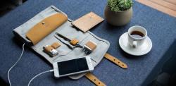d-park多功能数码收纳包,耳机U盘数据线充电器整理袋