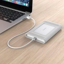 奥睿科ORICO MA2510C3 2.5英寸移动硬盘,1TB高速Type-C USB3.1/10Gbps硅胶防震