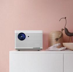 BFTV暴风Max 6 AI无屏电视,家用投影机,1080P分辨率1100流明