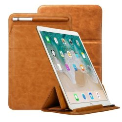 toovren Tri-fold iPad Pro 12.9 Case With Apple Pencil Holder