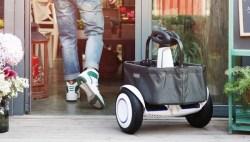 米家 九号平衡车Plus载物筐,15kg负载,30L超大容量