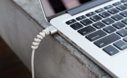 Zone-365 Twist Cable Protector, Lightning Charger Cable Saver