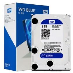 Western Digital 西部数据 WD Blue蓝盘 2TB SATA 6Gb / s 64M 台式机硬盘WD20EZRZ