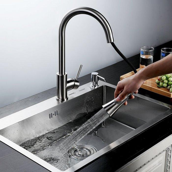 KEGOO/科固 K10003 304不锈钢水槽,厨房单槽洗菜盆