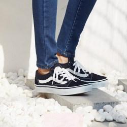 Vans范斯 V36CL Black Old Skool DX男女中性滑板鞋