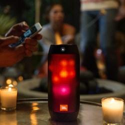 JBL Pulse2 音乐脉动2,炫彩蓝牙小音箱,防水设计