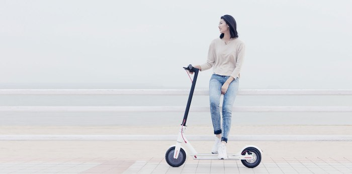 Xiaomi Mi Electric Scooter, 18.6 Miles Long-range Battery