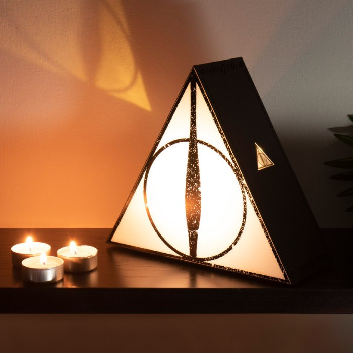 Deathly Hallows Projection Light By FireBox